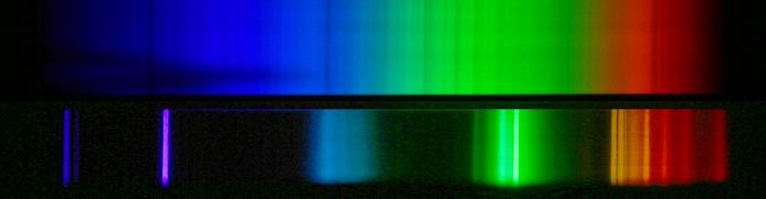 Solar Fraunhofer Lines And Fluorescent Light